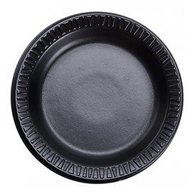 """Talíř FOAM """" Tichá Klasika """" Laminátové Černá Ø180mm (1000 Kousky)"""