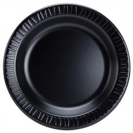 """Talíř FOAM """" Tichá Klasika """" Laminátové Černá Ø230mm (125 Kousky)"""