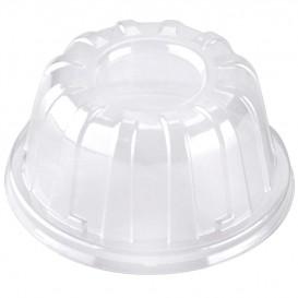 Plastové Víčko Vysoký Průhledný 11x6cm (100 Kousky)