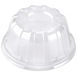 Plastové Víčko Vysoký Průhledný 11x6cm (1000 Kousky)