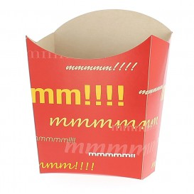 Krabička na Hranolky Střední 8,2x3,5x12,5cm (25 Kousky)