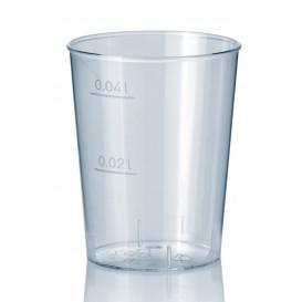 Kelímek Vstřikovaný Průhledný PS 40 ml (50 Kousky)