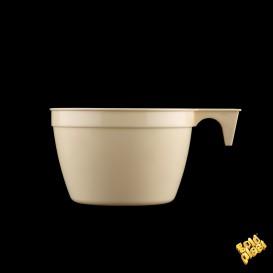 Plastové Šálek PP Cup Béžový 190ml (1000 Kousky)