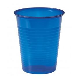 Plastové Kelímek PS Tmavě Modrá 200ml Ø7cm (50 Kousky)
