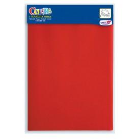 Papírové Ubrusy Červené 1,2x1,8m (1 Kousky)