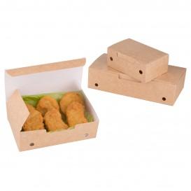 Krabička na Potraviny pro Fast Food Málo Kraft 115x72x43mm (25 Kousky)