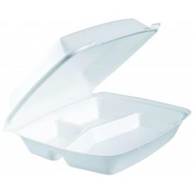 Menu Box Foam 3 Vrstvy Bílý 240x235mm (100 Kousky)