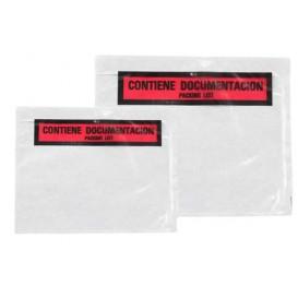 Obálka Průhledná Samolepicí pro Doklady Formátu s Potiskem 235x175mm (250 Kousky)