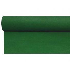 Středový Pás na Stůl Airlaid Zelený 0,4x48m Předřezaný 1,2m (6 Kousky)