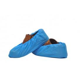 Návleky na Obuv Polyetylenové G80 Modrý (100 Kousky)