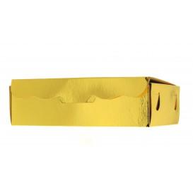 Krabička na Sladkosti a Dokolády Zlato 14x8x3,5cm 250g (50 Kousky)