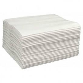 Ruční k Spunlace pro Manikúru a Pedikúru Bílá 30x40cm 50g/m² (100 Kousky)