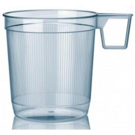 Plastové Šálek Tuhý Průhledný 250 ml (40 Kousky)