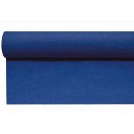 Středový Pás na Stůl Airlaid Modrý 0,4x48m Předřezaný 1,2m (6 Kousky)