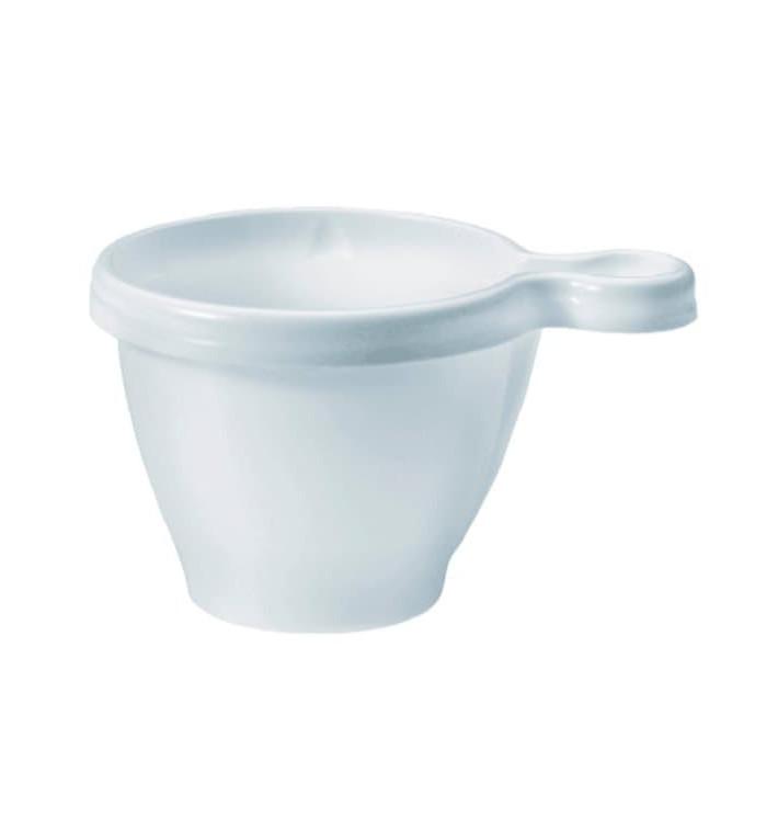 Plastové Šálek PS Bílý 80 ml (50 Kousky)