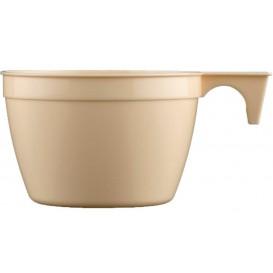 Plastové Šálek PP Cup Béžový 90ml (50 Kousky)