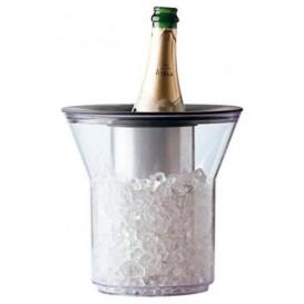 Kbelík na Led Plastové na 1 Láhev Průhledný PCTA (1 Kousky)