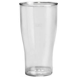 Kelímek Opakovaně Použitelné SAN Pivo Průhledný 350ml (5 Kousky)
