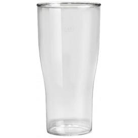 Kelímek Opakovaně Použitelné SAN Pivo Průhledný 400ml (5 Kousky)