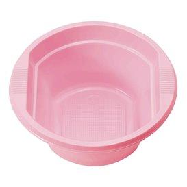 Plastové Misky PS Růžová 250ml Ø12 Vrstvym (30 Kousky)