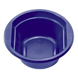 Plastové Misky PS Tmavě Modrá 250 ml Ø12 Vrstvym (30 Kousky)