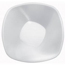 """Plastové Misky PP Bílý """"Square"""" 3000ml Ø27,7cm (30 Kousky)"""