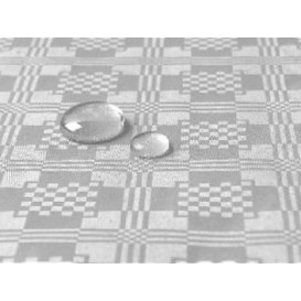 Nepromokavý Ubrus Rol Stříbrný 1,2x5 Metrs (10 Kousky)