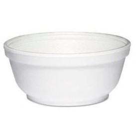 Termální Misky FOAM Bílý 8Oz/240 ml Ø11cm (50 Kousky)