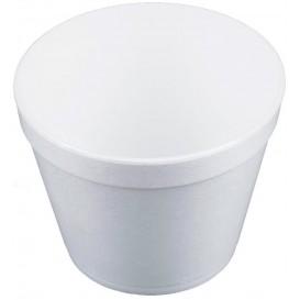 Termální Miska Foam Bílý 24Oz/710ml Ø12,7cm (25 Kousky)