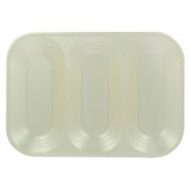 "Podnos Plastový PP "" X-Table "" 3 Vrstvami Perla 330x230mm (30 Kousky)"