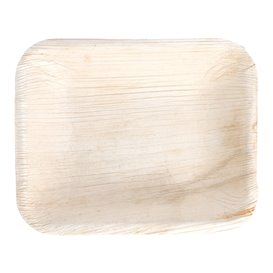 Podnos Obdélníkový z Palmových Listů 16x12,5x3cm (200 Kousky)
