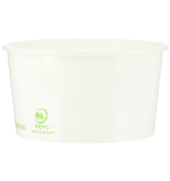 Kartonová Miska na Zmrzlinu Ekologický 100ml (65 Kousky)