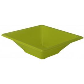 Plastové Misky PS Čtvercový Pistácie 12x12 Vrstvym (12 Kousky)