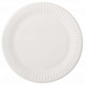 Papírové Talíř Bílý Ø15 cm (2000 Kousky)