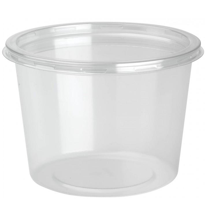 Miska PET DeliLite s Víčko 24,6Oz/700ml (50 Kousky)
