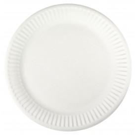 Papírové Talíř Bílý Ø18,5 cm (100 Kousky)