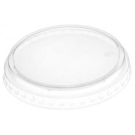 Ploché Víčko Zavřeno PET Krystal Ø9,5cm (112 Kousky)