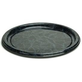 Plastové Talíř Kulatý Mramor 18 cm (25 Kousky)