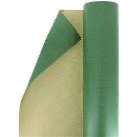 Dárkový Papír Kraft Zelený 100 m (1 Kousky)