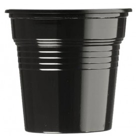 Kelímek Plastové PS Černá 80ml Ø5,7cm (1500 Kousky)