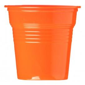 Kelímek Plastové PS Oranžový 80ml Ø5,7cm (50 Kousky)