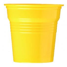 Kelímek Plastové PS Žlutá 80ml Ø5,7cm (50 Kousky)