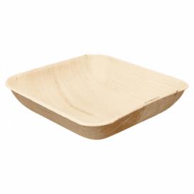 Misky z Palmových Listů 20x20x4cm (25 Kousky)