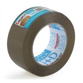 Lepicí Páska PP 4,8 cm x 132 m Hnědá (36 Kousky)