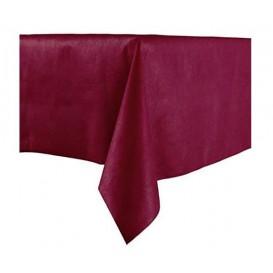 Ubrusy z Netkané Textilie Novotex Předřezaný 100x100cm Bordeaux (150 Kousky)