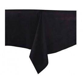 Ubrusy z Netkané Textilie Novotex Předřezaný 100x100cm Černá (150 Kousky)
