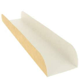 Podnos na Přírodní Kraft 30x6,1x3,2 cm (100 Kousky)