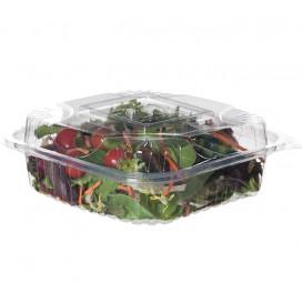 Salátová Mísa s Víčkem PLA 20,0x20,0x7,5cm (80 Kousky)