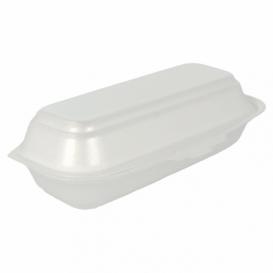 Obaly Foam Párek v Rohlíku Bílý 210x105x64 mm (500 Kousky)