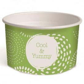 Kartonová Miska na Zmrzlinu 3oz/100ml Cool&Yummy (65 Kousky)